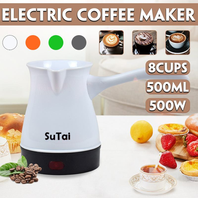 500W 8 Cups Mini Electric Heaters Stove Hot Cooker Plate Milk Water Coffee Tea Heating Furnace Multifunction Kitchen Appliance