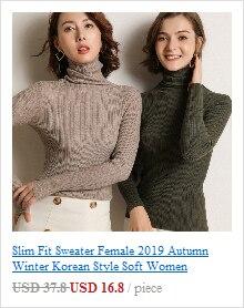 2018 Women Turtleneck Sweaters Winter Sleeveless Knitted