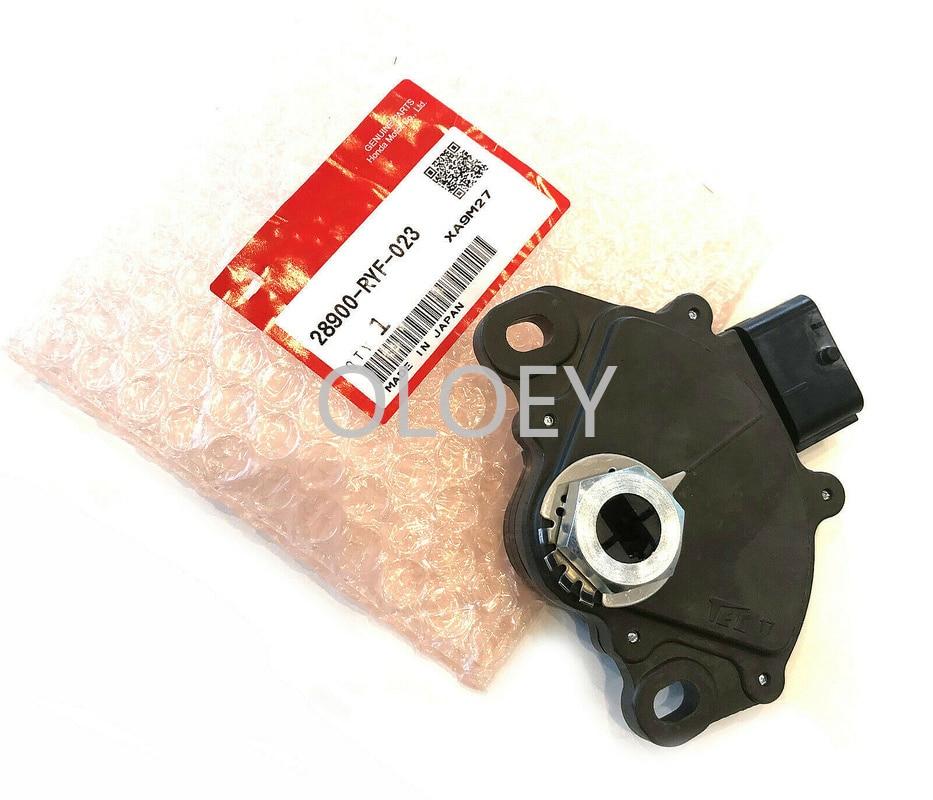 Interruptor de seguridad Neutral Sensor de posición de la Asamblea 28900-RYF-023 28900RYF023 para Honda Accord odisea piloto Ridgeline Crosstour 5 uds., panel de luces Interior para coche de 4mm/0,16