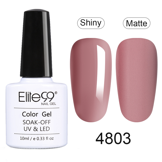 Elite99 10ml Ziegel Rot Farbe UV Gel Nagellack Soak Off Primer Für Nägel Gel Lack Semi Permanent Nagel art Design Gel Lack