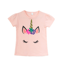 Short Sleeve Girls Cartoon Children Tshirt Girl Tshirts Kid Clothes Summer T-shirts Kids Shirt Shirts Tops For T-shirt 3-9 T summer boy shirts boys tshirts girl short sleeve girls children kid clothes kids t shirts tshirt shirt tops for t shirt 3 10 t