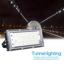 Светодиодный прожектор 50 Вт AC175-265V энергосберегающий открытый проектный свет легкий большой площади освещения алюминиевая граница 3000K