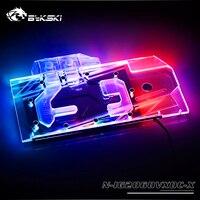 BYKSKI GPU Water block for Colorful iGame RTX2060Vulcan X OC V2 / Full Cover Copper Radiator Block Graphics Card