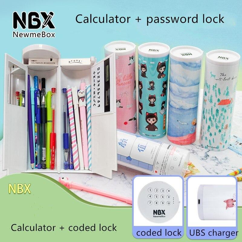 nbx inteligente codigo eletronico caixa de lapis 01