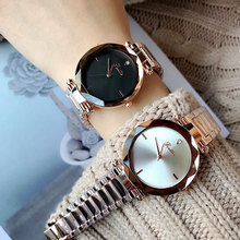 2020 Fashion Casual Stainless Steel Wristwatches Luxury Brand Women Quartz