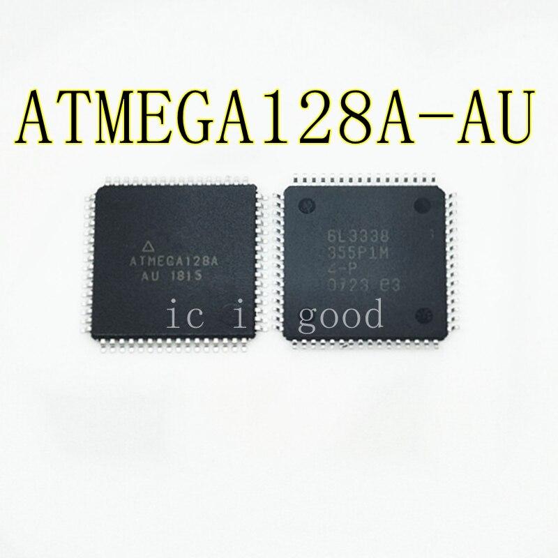 5 pièces 10 pièces 20 pièces ATMEGA128A-AU ATMEGA128A ATMEGA128 Microcontrôleur 8 bits avec 128K Octets Dans le Système Flash Programmable