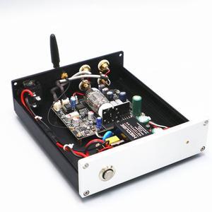Przedwzmacniacz rurowy Bluetooth 12AU7 + Bluetooth 5.0 APTX LDAC AAC odbiornik Audio + dekoder dźwięku DAC ES9018 24bit/96KHZ
