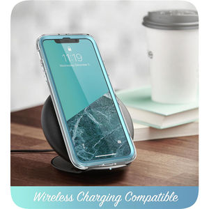 Image 5 - I BLASON For iPhone 11 Case 6.1 inch (2019 Release) Cosmo Full Body Glitter Marble Bumper Cover with Built in Screen Protector