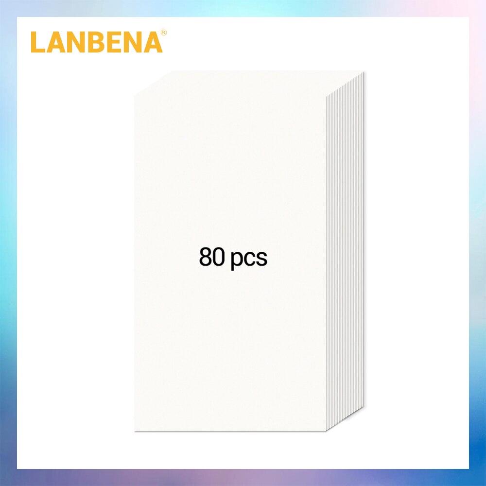 LANBENA Only 80PCS Paper Blackhead Remover