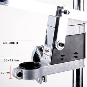 Image 3 - Power Werkzeuge Zubehör Bench Bohrmaschine Stand Clamp Basis Rahmen für Elektrische Bohrer DIY Werkzeug Presse Hand Bohrer Halter Power sets