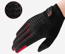 ROCKBROS Autumn Winter Cycling Gloves Touch Screen Windproof MTB Bicycle GEL Pad Shockproof Full Finger Mittens