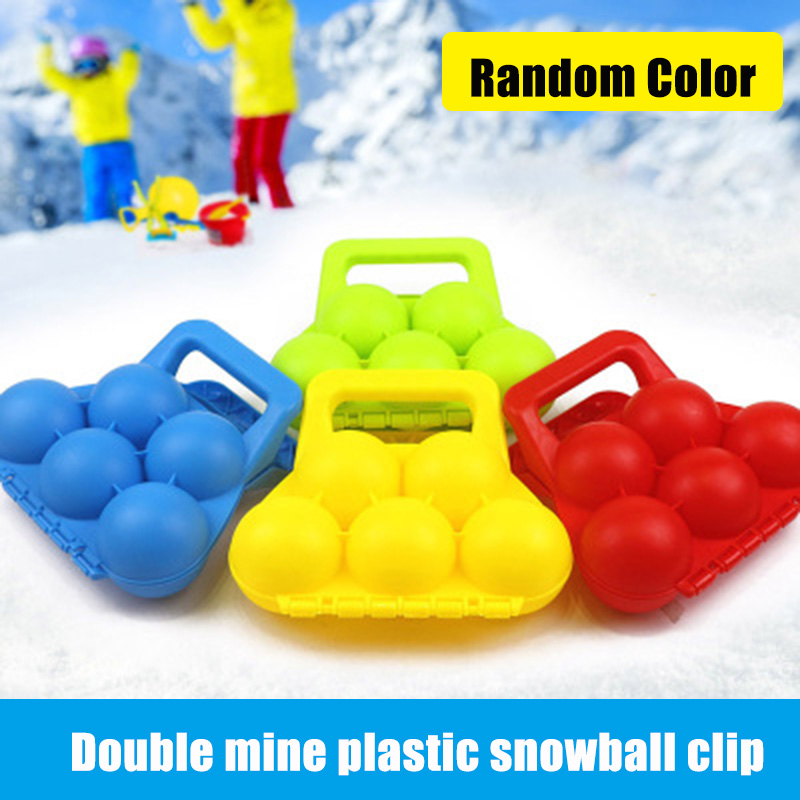 Snow Ball Maker Snowball Clip Snowball Fight Outdoor Sports Children Toy AN88 image