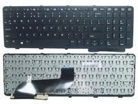 SSEA Novo laptop Teclado DOS EUA Para O HP Probook 650 G1 655 G1 Teclado com quadro Sem Pointer|Teclado de substituição| |  -