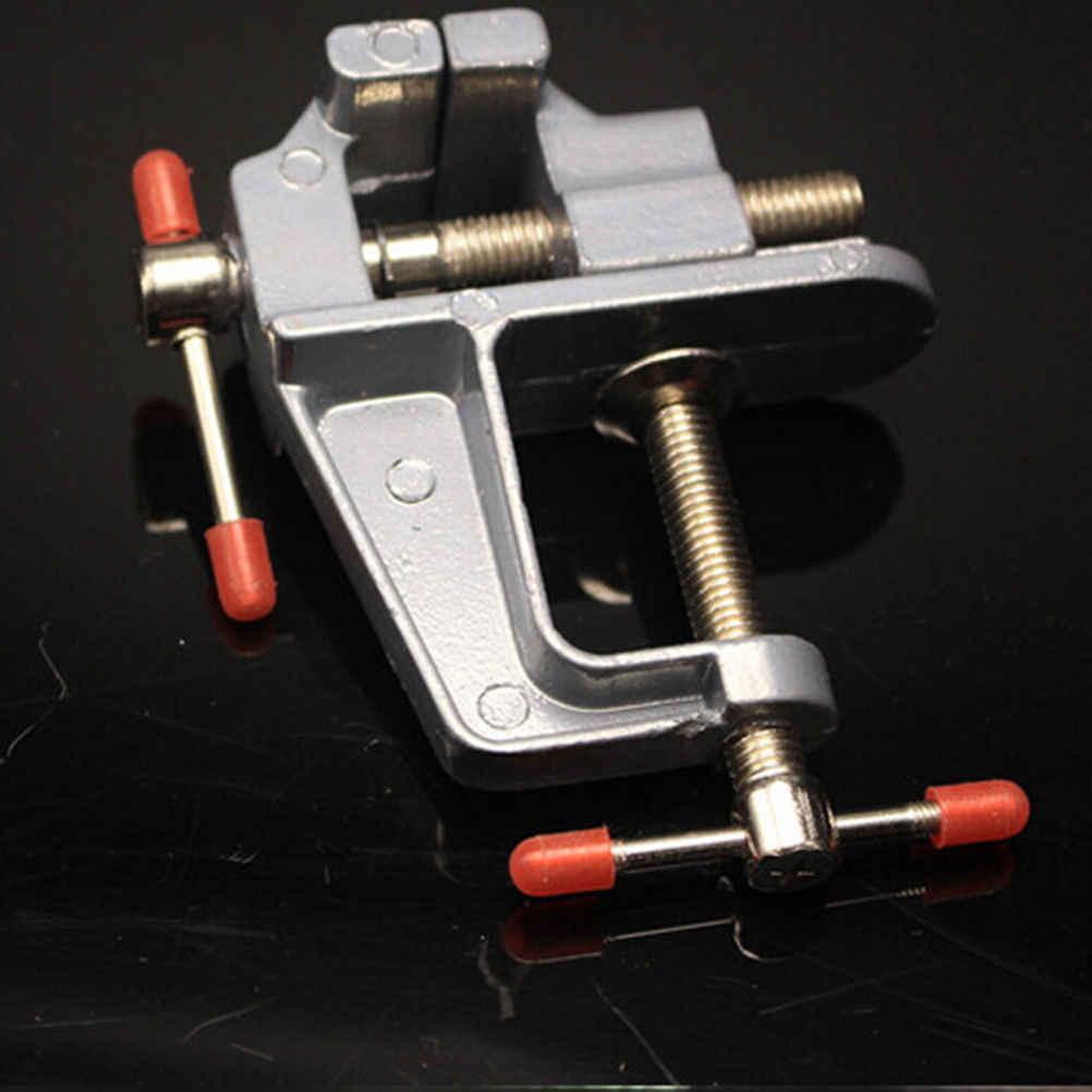 """3.5 """"알루미늄 소형 소형 보석상 테이블 클램프 벤치 바이스 미니 도구 바이스"""