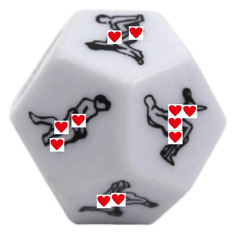 12 Positions Sexy Dice Funny Sex Dice Romance Love Humour Gambling Adult Games Erotic Craps Pipe Sex Toys For Couples