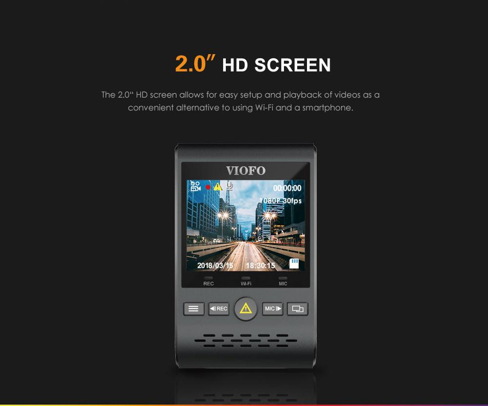 Car DVRS Dash Cam with Rear View Camera Car Video Recorder Full HD Night Vision 2 Camera Recorder with G-sensor A129DUO Dashcam 6