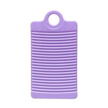 Plastic Washboard Antislip Thicken Washing Board Clothes Cleaning For Laundry