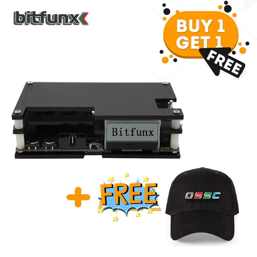 Bitfunx OSSC Convertitore di HDMI Kit per Retro Console di Gioco per PlayStation 2/Xbox one 360/Atari/Dreamcast /Sega
