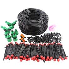 Hose Sprinkler-Kit Drip-Irrigation-System Garden-Watering-Inserting Micro-Flow-Dripper