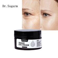 Dr.Sugarm змеиным ядом для ухода за областью вокруг глаз анти-патчи для ухода за областью вокруг глаз Бальзам для того, чтобы уменьшить крем для ...