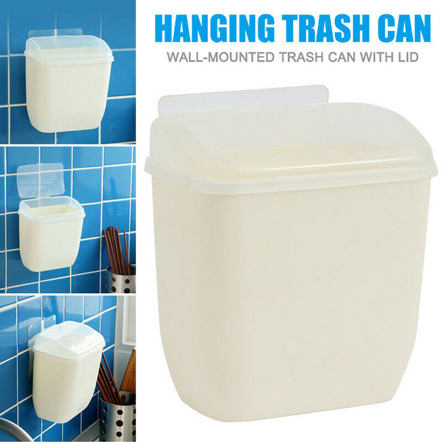 Kitchen Wall Mounted Hanging Trash Can