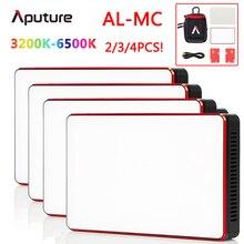 1/2/3/4 pcs Aputure AL MC Video Photography Lighting AL MC 3200K 6500K Portable LED mini RGB Light with HSI/CCT/FX Lighting Mode