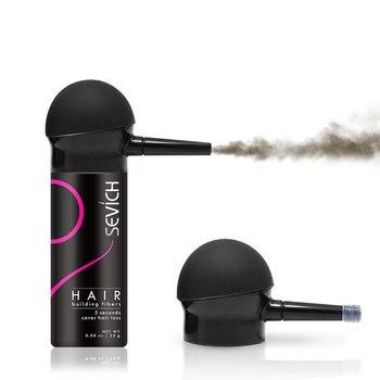 Keratin Hair Fiber Applicator Hair Building Fiber Spray Pump Styling Color Powder Extension Thinning Thickening