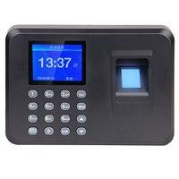 Офисный Интеллектуальный пароль посещаемость машина биометрический отпечаток пальца работник проверка-в рекордер DC 5 В посещаемость време...