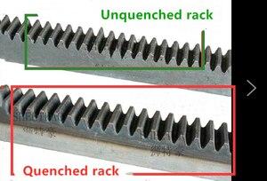 Image 5 - 10pcs จัดส่งฟรี 1Mod 15x15x1000 มม.1 M Spur Gear Rack stright ฟันเกียร์ Rack precision CNC Rack ตรงฟันฟัน Rack