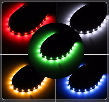 LED light bar Christmas car decoration 12V 15SMD30cm driving motorcycle for BMW 530Li 335i 750i 330i 325i 320si 630i E34 F10 image