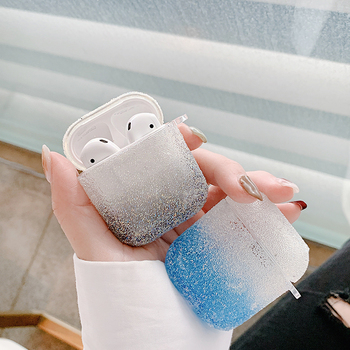 Luxury 3D Bling diamonds hard case for Apple Airpods 1 2 protective Wireless Bluetooth Earphone Accessories cover Charging box for apple airpods case protective cover bluetooth wireless earphone case charging box transparent glossy hard case lovely