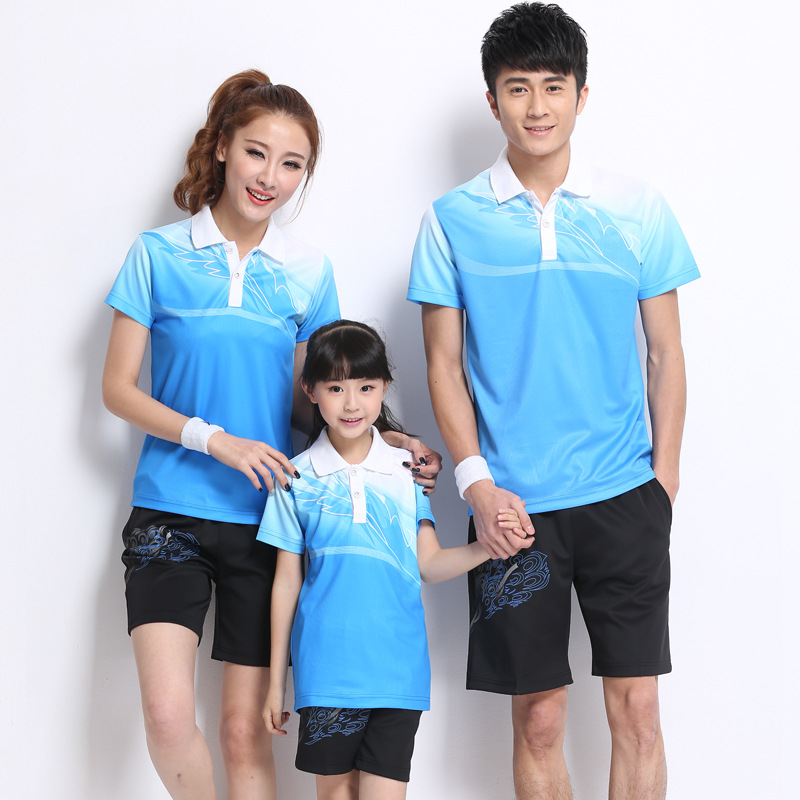 Summer Wear-the Whole Family Family Of Three Sportswear Short Sleeve T-shirt Suit Shorts Group Clothes