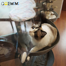 Hot Sale Cat Hammock Bed Mount Window Pod Lounger Suction Cups Warm For Pet Rest House Soft And Comfortable Ferret Cage