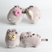 Cartoon cute cat plush pillow Christmas gift toy girl 16CM
