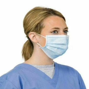 3-Layer Anti COVID-19 Flu VirusMasks Anti Dust Breathable Earloop Mouth Face Mask Comfortable Sanitary Mask Fast Delivery 1