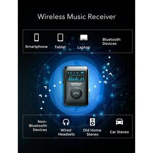 Image 2 - Mpow Bluetooth 5.0 Adattatore Wireless Ricevitore Audio Con Display OLED Musica In Streaming Adattatore 3D Surround Per Auto Aux Stereo di Casa