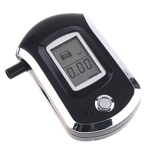 High Sensitive Alcohol Breathalyzer Mini Alcohol Diagnostic Tool Digital LCD Breath Alcohol Tester Professional Alcohol Analyzer