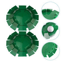 2 Pcs Golfs Training Putting Cup Golfs All-Direction Practice Training Equipment