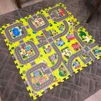 Chaque 30X30cm 9/18 pièces alot tapis de jeu bébé EVA mousse jeu Puzzle tapis pour enfants