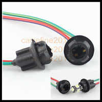 Rockeybright 20 шт t10 168 194 жгут проводов t10 мягкая лампочка разъем plug and play t10 вставленный держатель лампы адаптер