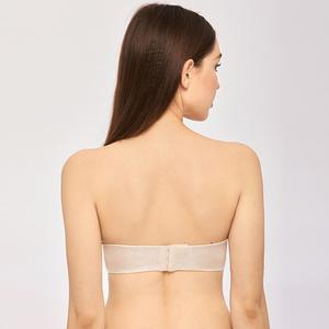 Image 3 - Delimira Womens Slightly Lined Custom Lift Seamless Strapless Bra