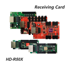 Huidu full color asyn led video display HD-R500 HD R501 R5018 R505 R507 Receiving Card Work with HD-C10/C10C/HD-C35/A3