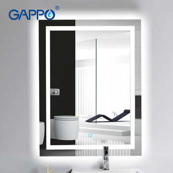 Gappo LED light  Glass bathroom mirror ---SHIP FROM Russia ONLY ---makeup mirror lights bathroom mirrors rectangle - DISCOUNT ITEM  51% OFF All Category