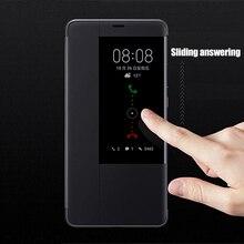 Original Smart View Case For Huawei Mate 20 Pro Auto Sleep Wake Up Flip Cover Slim Phone Case For Huawei Mate20 Fundas Capa