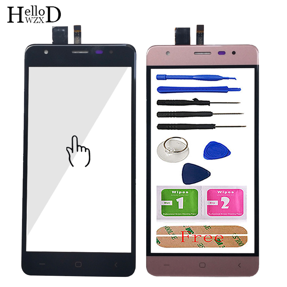 5.0'' Touch Screen For DEXP Ixion X150 Digitizer Panel Front Glass TouchScreen Touch Screen Sesnor Tools 3M Glue Wipes