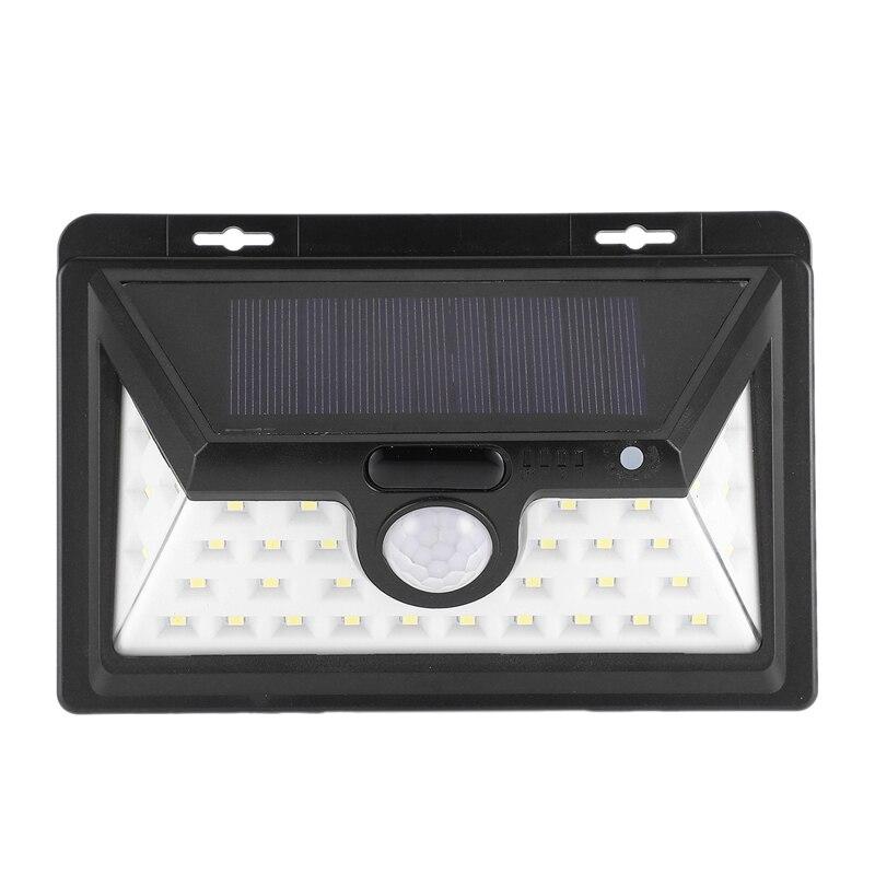 LED Solar Lights Outdoor Motion Sensor Wall Lamps Waterproof Emergency Light Suitable For Garden Front Door Garage Fence