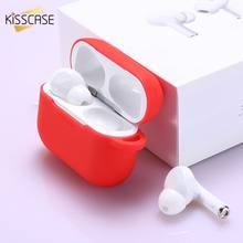 Liquid Silicone Earphone Case For Airpods Pro 3 Earphone Protective Cover Case for Apple Airpods Pro Skin Soft Charging Box Bag(China)