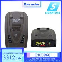 Karadar 2021 nowy samochód przeciw wykrywaczom radarowym z GPS 2 w 1 tryb podpisu rosyjski Alarm ostrzegawczy LED identyfikacja X CT K La CORDEN