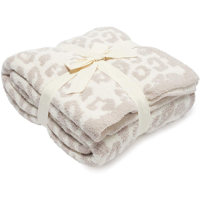 Leopard Print Fleece Blankets, High-grade Fleece Blankets and Sofa Blankets, Super Soft and Comfortable Lightweight Blanket-2