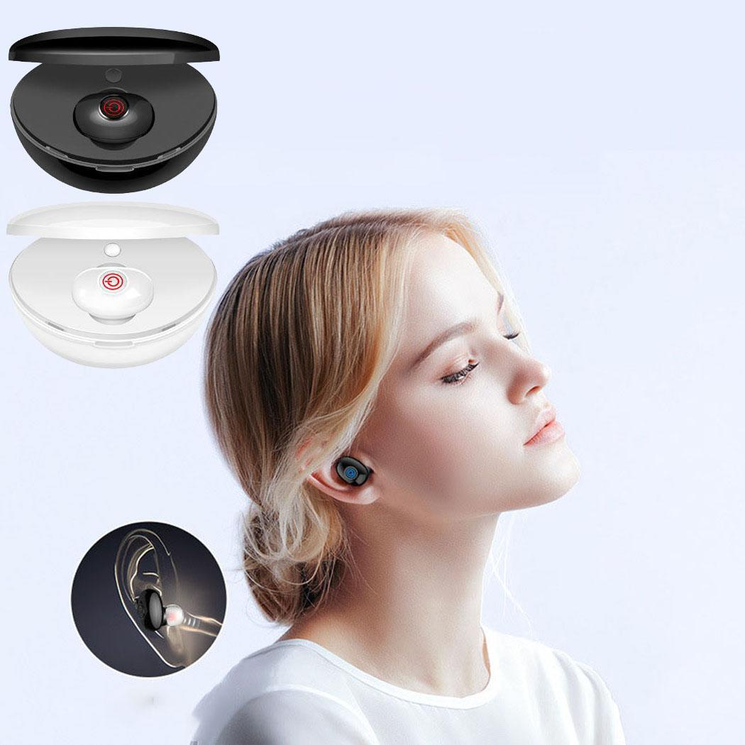 Wireless Bluetooth Hifi Headset Stereo In-Ear Ultra-lightweight for all-day comfort Mini Earpieces Earphone 1-2H